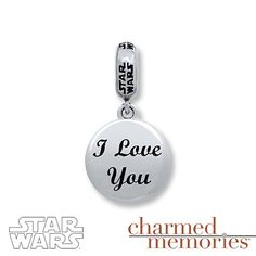 Charmed Memories Star Wars Force Charm Sterling Silver poQnZWtbrW