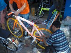 My 'Dutch' bicycle in Guangzhou