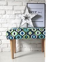 ŁAWKA ławeczka tapicerowana pufa kolorowa lotus, HouseBerry