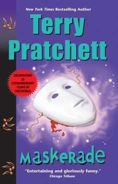 "Maskerade by Terry Pratchett (think ""Phantom of the opera"" in Anhk-Morpork, with Granny Weatherwax!)"