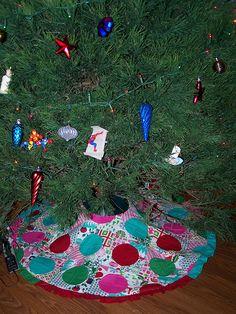 Sew Sweetness: Christmas Tree Skirt