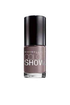 A mauve-y taupe hue, such as Maybelline Color Show Nail Lacquer in Taupe On Trend ($3.99) is a richer, more intense version of nude—and is e...
