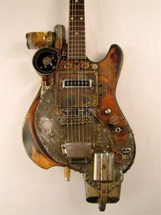 Inhibitor Electric Guitar  by Tony Cochran Guitars The Inhibitor e...