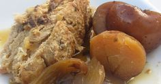 Blogue culinaire Dire, Chicken, Food, Slow Cooker Recipes, Pork Roast, Apples, Cooking Food, Snacks, Greedy People