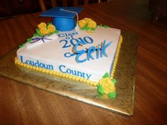 High School Graduation Cakes | ... Cakes for Every Occasion: Loudon County High School Graduation Cake