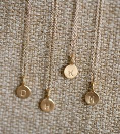 initial necklaces, finally got mine similar to this :)