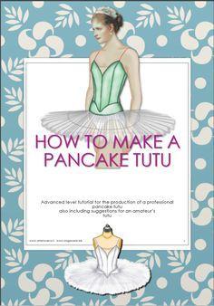 Pancake tutu patterns plus tutorial by SewingPatternLab on Etsy Tutu Ballet, Ballerina Tutu, Tutu Tutorial, Costume Tutorial, Tutu Pattern, How To Make Tutu, Diy Tutu, Ballet Clothes, Dance Shirts