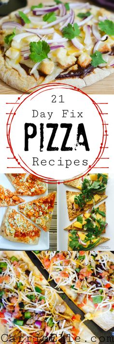 21 Day Fix Pizza Recipes