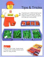 LEGO Tips and Tricks storage