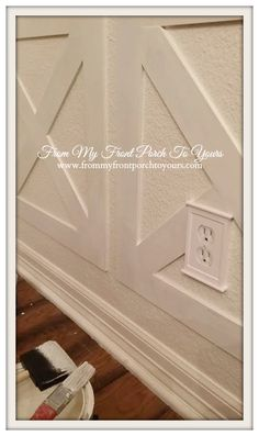 From My Front Porch To Yours Diy Wainscoting