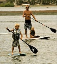 Stand Up Paddleboarding on Big Bear Lake  http://www.bigbearvacations.com/thingstodo.htm