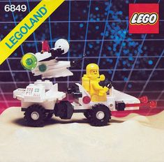 These handy LEGO instructions are for sets released in 1987 Lego Sets, Lego Space Sets, Cool Lego, Cool Toys, Lego Boxes, Classic Lego, Lego Construction, Lego Photo, Cartoon Toys