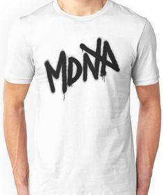 MDNA Tag (Black) Unisex T-Shirt