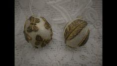 Húsvéti kifújt tojás finom repesztéssel, antikolva