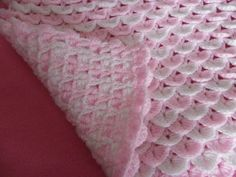 Free Crochet Baby Blanket Patterns | BABY REBORN COT PRAM COVER BLANKET CROCHET PATTERN (2) | eBay