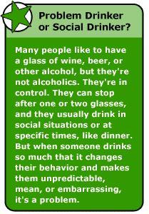 Problem Drinker or Social Drinker