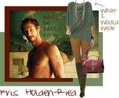 """""""Kris Holden-Ried"""" by exaybachay ❤ liked on Polyvore"""