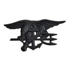 US Navy Seals Special Warfare badge - nero
