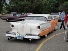 57 Ford with continental kit