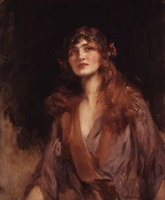 Lily Elsie (Mrs Bullough) by Sir James Jebusa Shannon