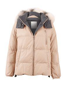 Brunello Cucinelli Leather Puffer Jacket