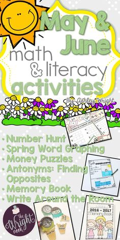 This package is perfect for complimenting your math and literacy centers and lessons. It is full of fun and engaging activities. Most of these activities also work great for extra at-home practice!