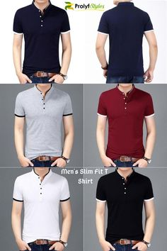 Men's slim fit shirt is durable for everyday wear. Gives you a charming look especially paired with your favourite jeans.
