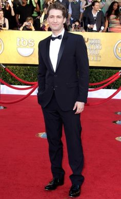 Matthew Morrison in a black Tuxedo - 2012 Sag Awards