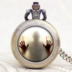 The Walking Dead Quartz Pendant Pocket Watch //Price: $9.95 & FREE Shipping //     #twd #TWDFamily #thewalkingdead #twdmerchandise