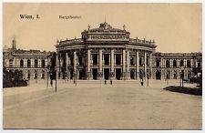 Turn of Century Vienna - Burgtheatre - Wien I. Vienna  - Austria 1900s-1910s Postcard