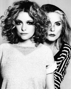 Wow! My two favourite female singers in one shot...Alison Goldfrapp & Debbie Harry