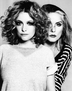 Wow! My two favourite female singers in one shot...Alison Goldfrapp & Debbie Harry