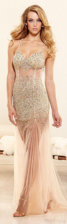 Terani Couture Feminine Gown•I love this, love love love love!!!