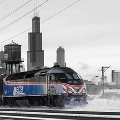 "Nothing says ""My Home"" like Metra and the Sears Tower. (I will never call it the Willis Tower!)"