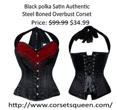 Black corset Corset Shop, Wedding Corset, Plus Size Corset, Steampunk Corset, Waist Training Corset, Black Corset, Collection, Shopping, Color