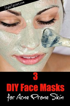 DIY Face Masks for Acne Prone Skin