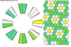 Kumihimo Pattern-16 Thread-K2047 - friendship-bracelets.net -  ●ღ●/ღ●**