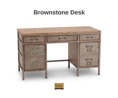 Brownstone Desk from Furniture Row.