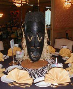 African Weddings Centerpieces   Centerpieces