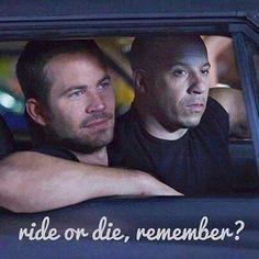Ride Or Die Remember?