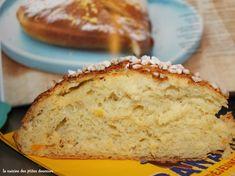La Pompe Provençale (Brioche à l'huile d'olive, à la fleur d'oranger et zestes d'orange) – Nana et Chocolat