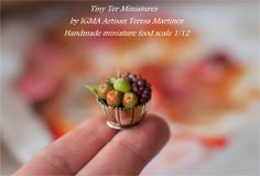 My next shows.  I'll be at the Kensington Dolls House Festival in Kensington  17 and 18 May, 2014  Then just a week later I'll be in Germany.  1zu12 - Die Messe  24 and 25 May, 2014 Hope to see you there!   Tiny Ter Miniatures Bowl fruit miniatures
