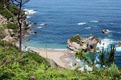 Playa de serin. Gijon. Asturias