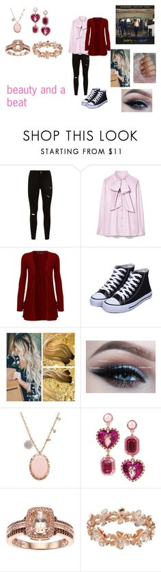 """""""Beauty and a Beat by Alex Goot, Kurt Schneider, and Chrissy Costanza"""" by ocean-goddess ❤ liked on Polyvore featuring Tory Burch, WearAll, Meira T, Betsey Johnson and LC Lauren Conrad"""