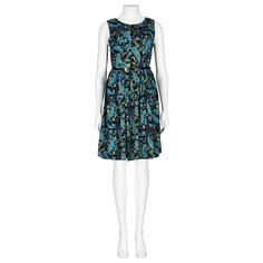 9e2aaaadfd Black   Blue Paisley Moon Print Structured Dress in DRESSES from Apricot  Structured Dress