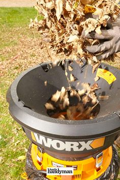 10 Tips for Composting Your Leaves This Fall Oak Leaves, Yellow Leaves, Leaf Compost, Composting 101, Compost Tumbler, Sweet Chestnut, Willow Leaf, Yard Waste, Growing Gardens