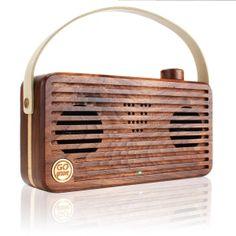 Starting at $115 Gogroove BlueSYNC WUD Universal Retro Wood Bluetooth Speaker