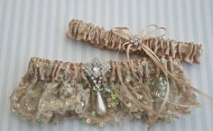Weddings Wedding Garter Exclusive Garters by GartersByGarterLady, $60.00