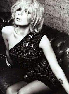 Rocker-Chic Celeb Campaigns - Platinum-Haired Scarlett Johnson for Mango 2012