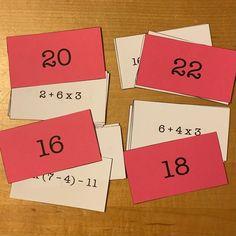 Math Resources, Math Activities, Math Enrichment, Order Of Operations, Math Task Cards, 5th Grade Math, Math Workshop, Homeschool Math, 5th Grades